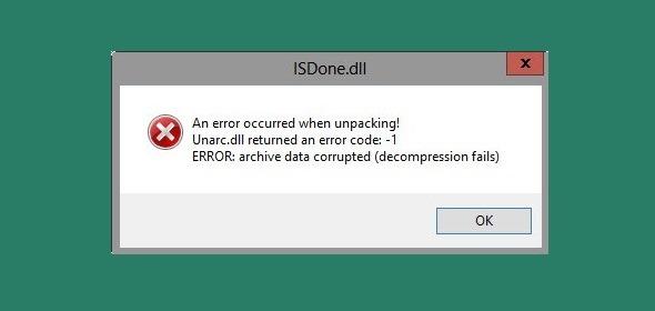 isdone.dll-error