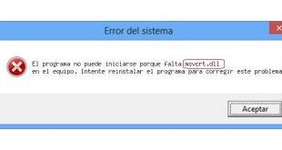 msvcrt.dll error