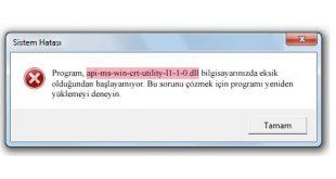 api-ms-win-crt-utility-l1-1-0-dll error
