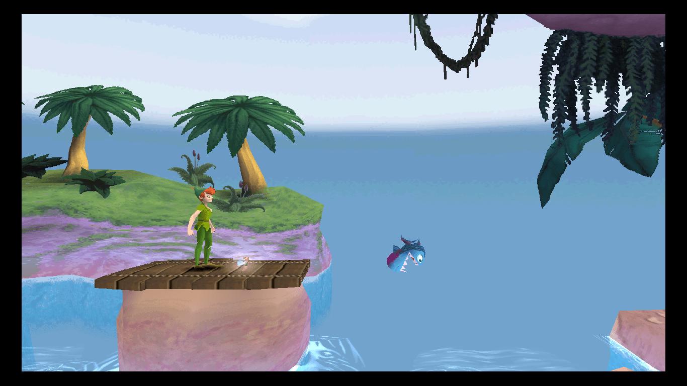 peter pan gameplay