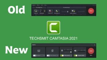 نحوه استفاده از ضبط کننده قدیمی در Camtasia 2021