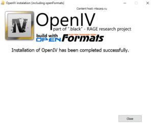 آموزش نصب openiv