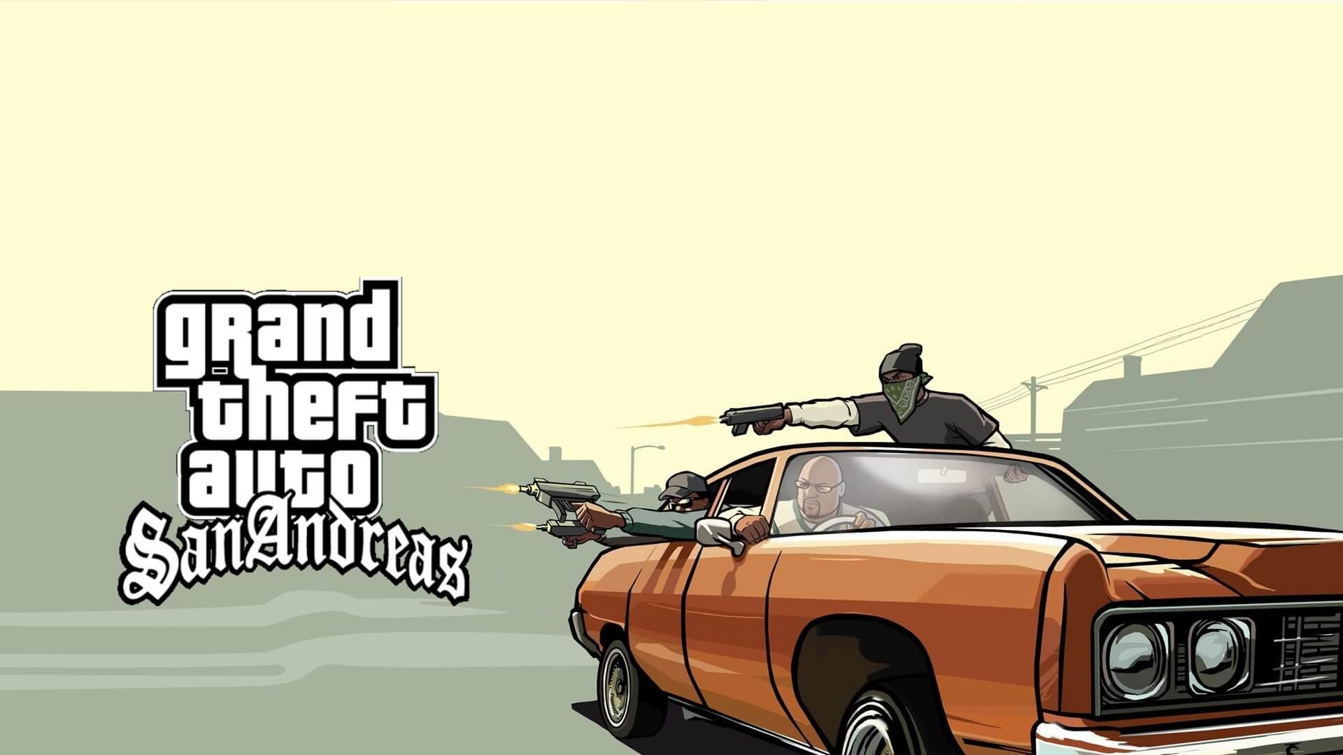 سیو کامل بازی GTA San Andreas